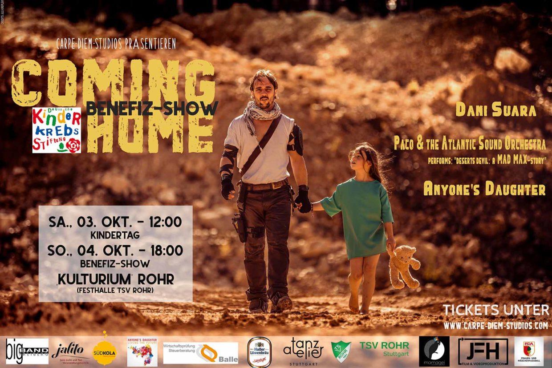 Coming Home Benefizkonzert Kulturium